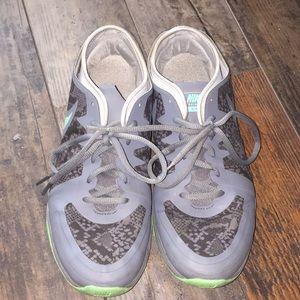 Women's Nike grey sneakers